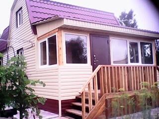 Постройка деревянного дома.