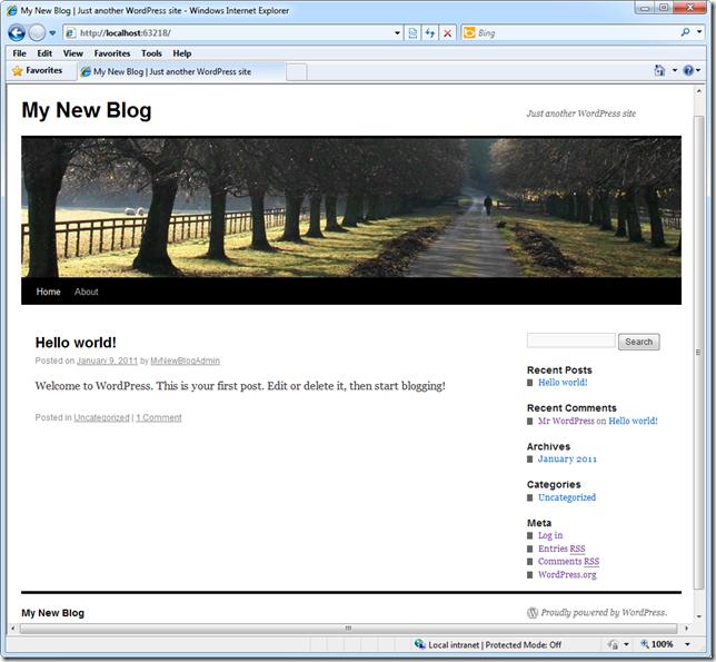 Мой новый Блог