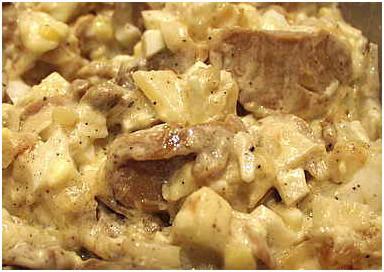 Салат из шампиньонов,рецепты + с фото