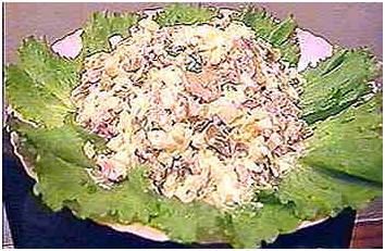 Как приготовить зелёный салат.